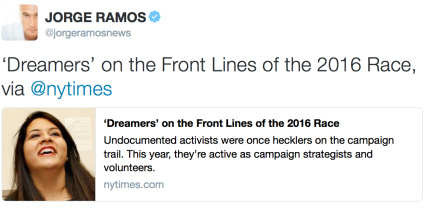 Dreamers on the frontline